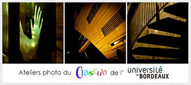 Ateliers photo du Clascub